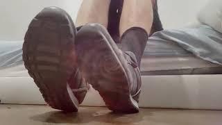 Lesbian foot porn. Master Hypnosis Socks Shoes